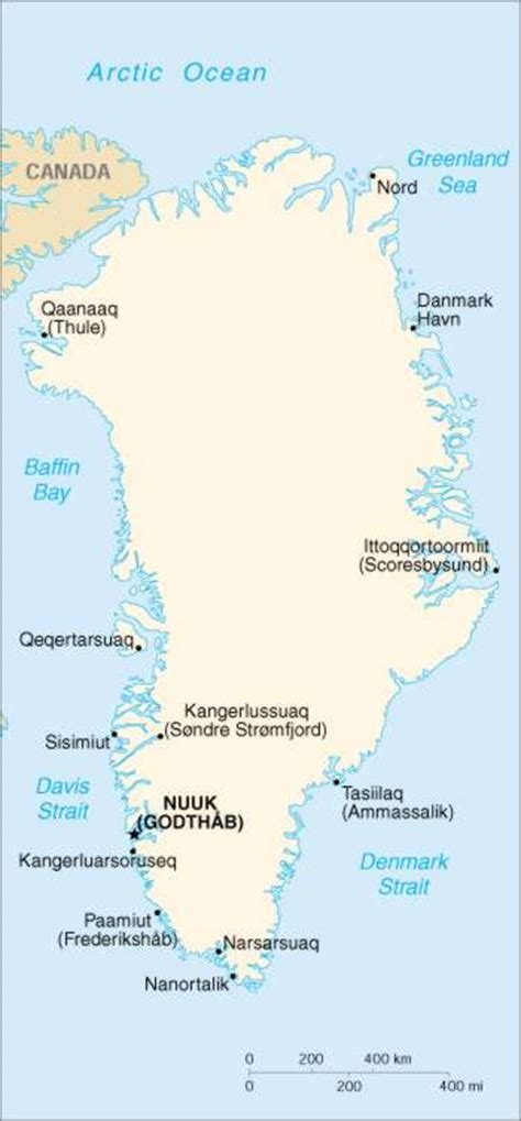 greenland map with cities 1up travel greenland maps cities map cities of