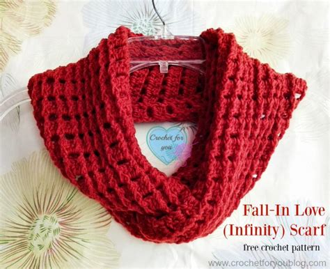 free crochet patterns for infinity scarves fall in crochet infinity scarf pattern favecrafts