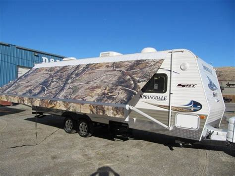rv awning shade realtree camo rv awning by fun in the shade custom rv