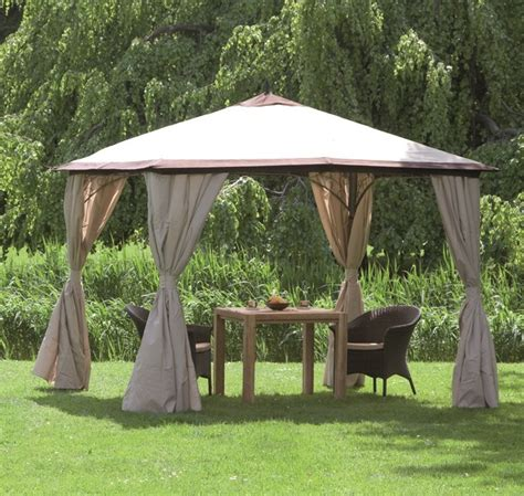 pavillon siena garden siena garden ersatzdach zu pavillon milos mocca natur