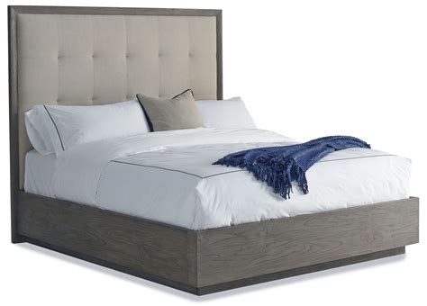 queen upholstered bed palmer queen upholstered platform bed from brownstone