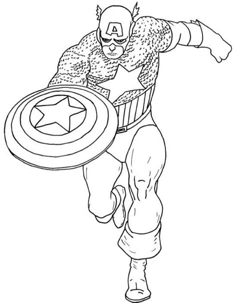 printable coloring pages captain america get this captain america coloring pages marvel superhero