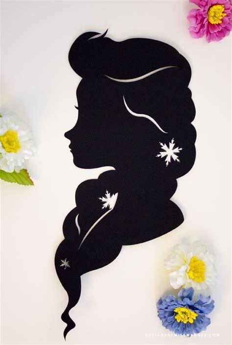 ideas  disney princess silhouette