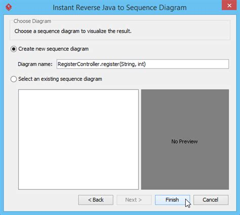 generate sequence diagram from java code create sequence diagram from java code in rad periodic