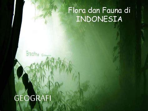 membuat makalah flora dan fauna persebaran fauna dan flora di indonesia