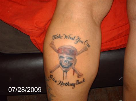 jack tattoos johnny depp quotes about tattoos quotesgram
