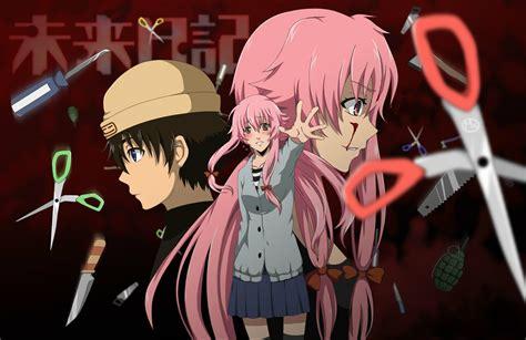 future diary anime review mirai future diary the clinic