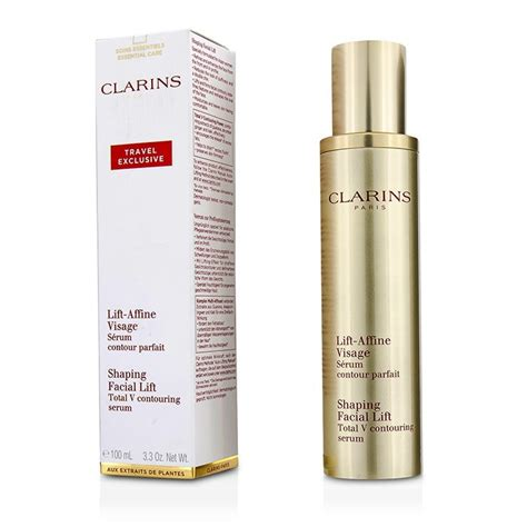 Clarins Shaping Lift Total V Contouring Serum 2ml clarins shaping lift total v contouring serum 100ml 3 3oz cosmetics now us