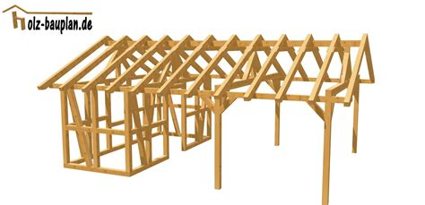carport bauplan carport einfach selber bauen