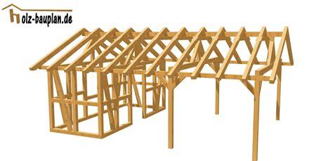 pavillon 3 x 6 carport einfach selber bauen