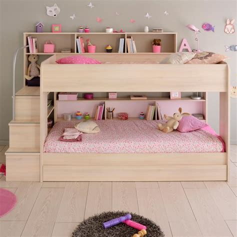 teenager beds wood bunk beds with storage drawers stairs for kids