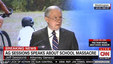 jeff sessions news today fox news trump mourns gun massacre without mentioning guns daily