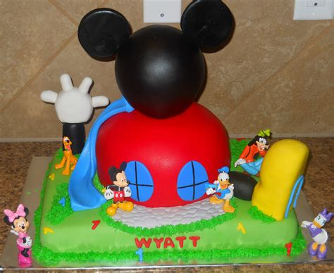 mickey mouse clubhouse mickey mouse cake decoration ideas birthday cakes