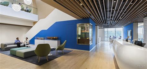 Kitchen Design New Zealand office fit out for dnv gl technology centre singapore by