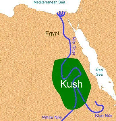 africa map kush cush noah begat 3 sons