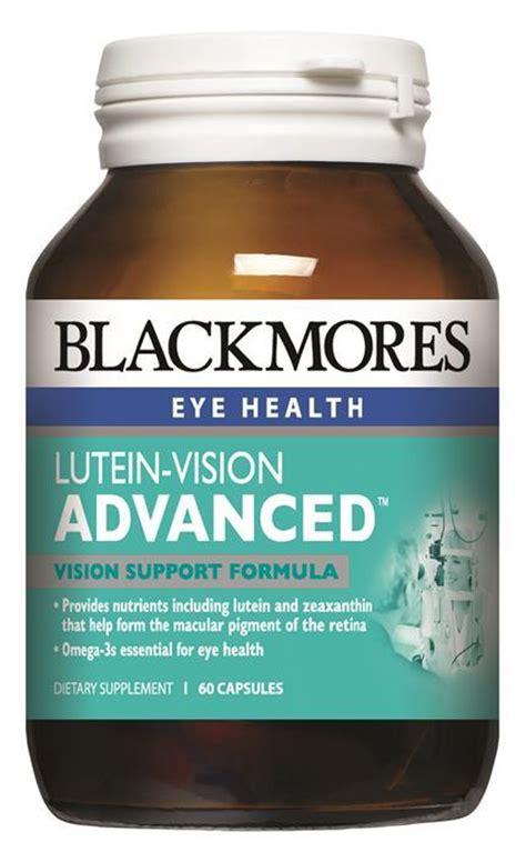 Blackmores Lutein Vision Jual Vitamin Mata blackmores lutein vision advanced capsules 60 ibuy pharmacy nz s pharmacy