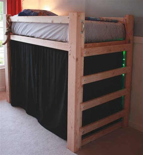 fort bunk bed 25 best ideas about loft bed curtains on pinterest loft