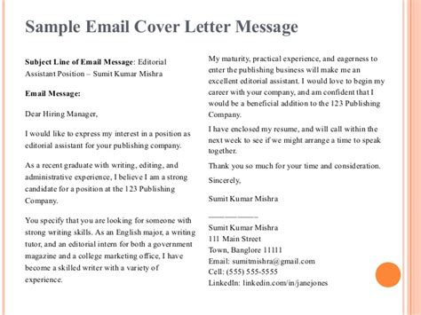 importance resume cover letter