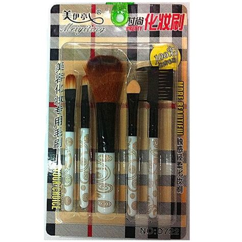 Kuas Make Up Brush 5 In 1 5in1 Toko Tessa cosmetic make up brush 5 set kuas make up jakartanotebook