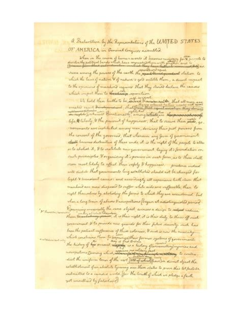 thomas jefferson declaration of independence 5