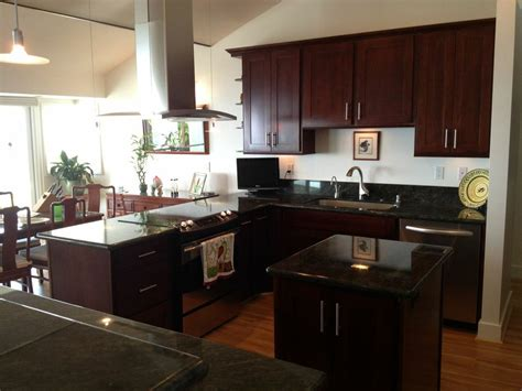 dark espresso kitchen cabinets kitchens traditional dark wood cherry color kitchen