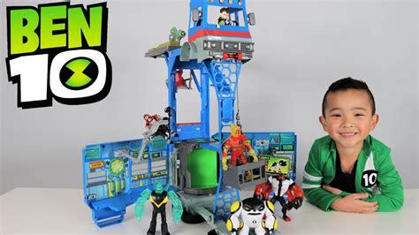 ben 10 toys ben 10 toys transforming playset rustbucket unboxing