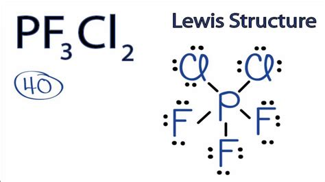 Drawing Resonance Structures by Pf3cl2 Lewis Structure How To Draw The Lewis Structure