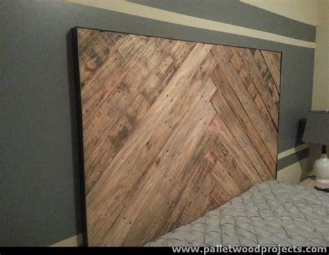 wooden pallet headboard cozy pallet headboard ideas pallet wood projects