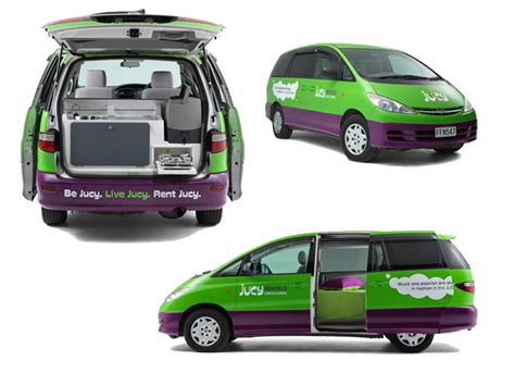 Kitchen Cutlery Storage - jucy campers 2 berth cabana features amp specs touring new zealand