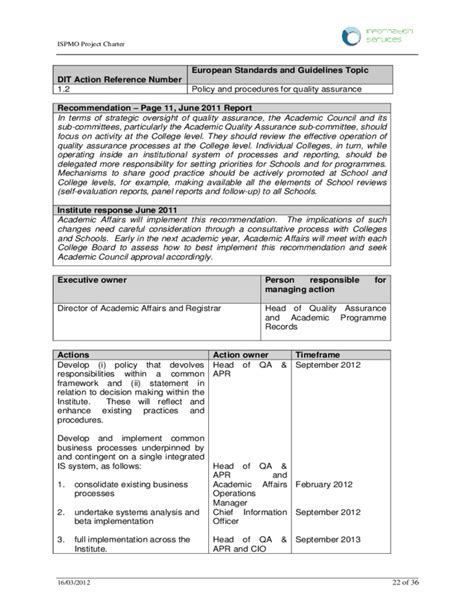 Sample Resume Format For Quality Assurance by Project Charter And Scope Statement Example Free Download
