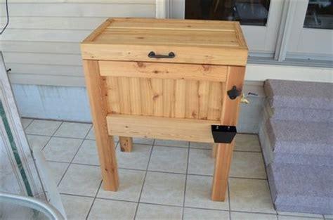 cedar deck cooler plans 187 woodworktips