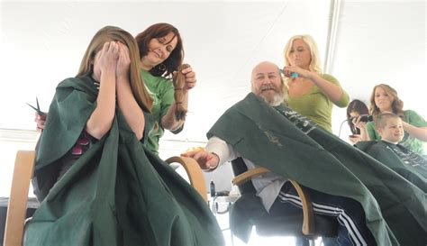 st baldricks women st baldrick s head shaving fundraiser