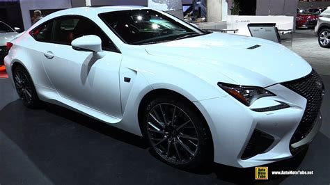 rcf lexus 2017 2017 lexus rcf exterior and interior walkaround 2016