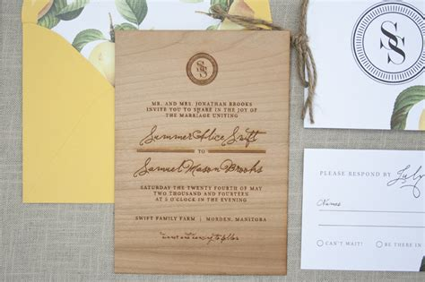 Engraved Wedding Invitations by And Rustic Wood Engraved Wedding Invitations