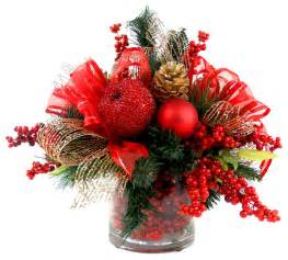 iced apple and berry floral arrangement red gold and green traditional christmas