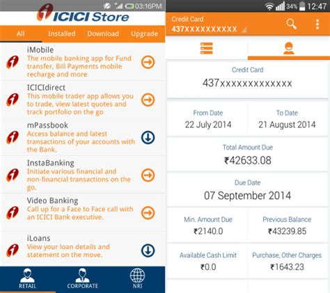 icici bank mobile banking apps icici bank launches four new apps for android and ios