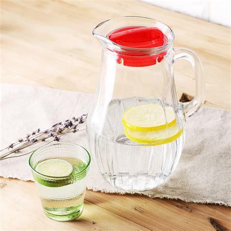 Fine Glassware Manufacturer Lead Free Glass Of Cold Water Bottle Glassware Company