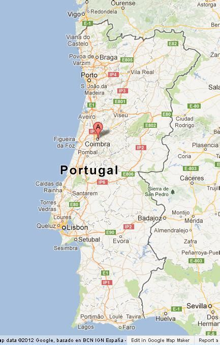 Most Beautiful Places In The World by Coimbra On Portugal Map World Easy Guides