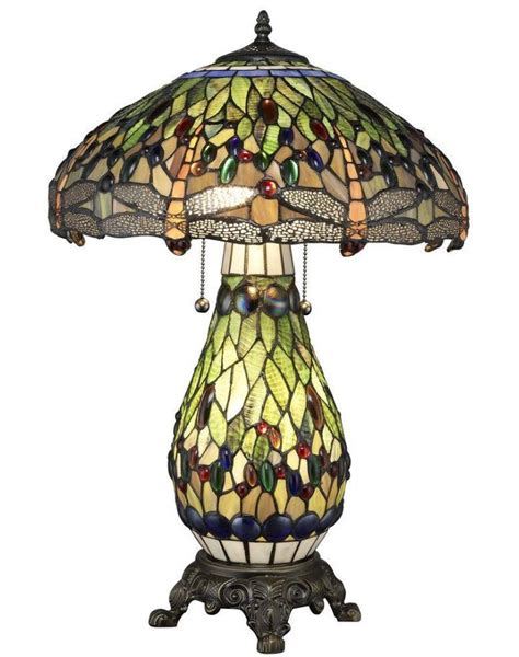 Stained Glass L Base by Style Stained Glass Table L Dragonfly Bronze
