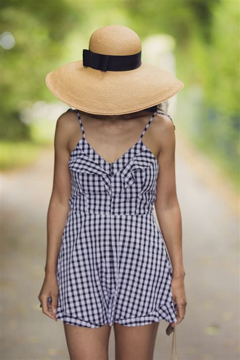 Geneva Romper another day another gingham romper currently wearing