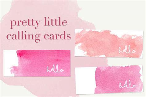 Feminine Business Card Template by Feminine Mini Business Cards Bundle Business Card