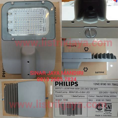 Lu Led Pju Philips jual lu jalan led brp371 90w philips sinar jaya mandiri