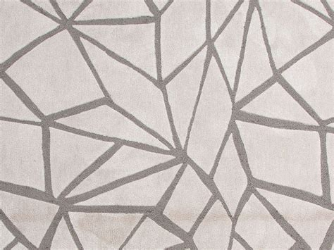 Buy Modern Rugs Buy Jaipur Rugs Modern Geometric Pattern Ivory And White Polyester Tufted Rug Br25 On Sale