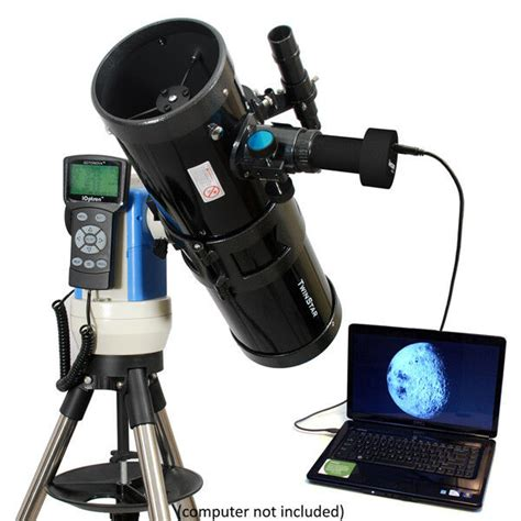 black 6 quot automated gps reflector telescope with usb computerized ebay