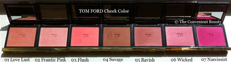 Review Tom Fords 3 by The Convenient Swatch And Review Tom Ford Blushes