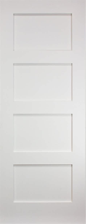 coventry white 4 panel shaker door vibrant doors