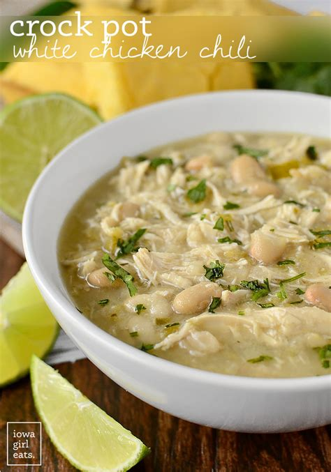 white pot crock pot white chicken chili iowa eats