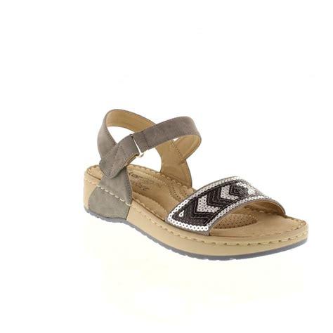reiker sandals rieker v5778 42 grey velcro sandals rieker