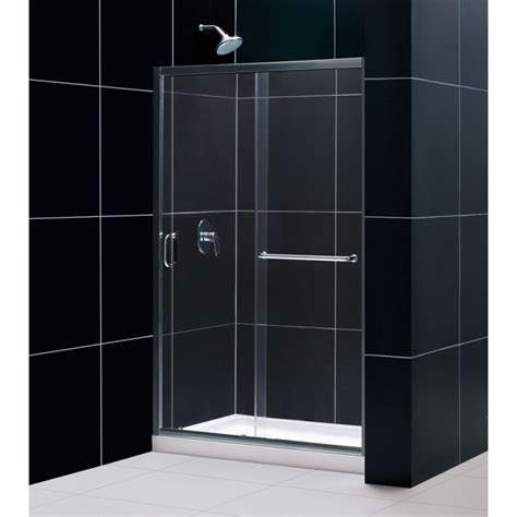 Direct Shower Door Reviews Dreamline Shdr 0948720 01 Chrome Infinity Z 44 Quot 48 Quot Frameless Sliding Shower Door