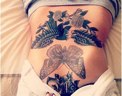 girl stomach tattoos designs 15 absolutely gorgeous stomach tattoos for